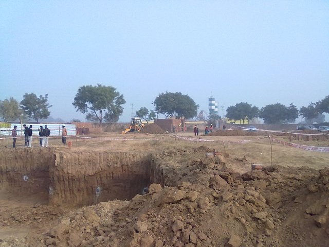 December 2012 Excavation begins